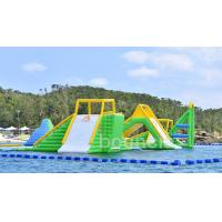Buy cheap Giant Inflatable Aqua Park Sports Equipment / Inflatable Water Park Games For Sea product