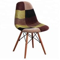 Buy cheap Fashionable Patchwork Dining Chairs , Colorful Patchwork Occasional Chair product