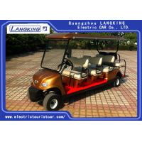 Buy cheap 8 Passenge Electric Club Car For Hotel Reasort 80km Range HS CODE 8703101900 product