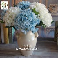 Buy cheap UVG FHY25 decoration of houses interior wholesale artificial hydrangea flowers for parties product