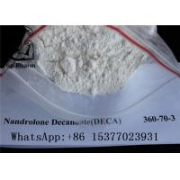 Buy cheap White Powder Deca Nandrolone Decanoate CAS 360-70-3 For Fitness Muscle Gaining product