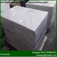 Buy cheap hot sale offset printing paper woodfree printing paper product
