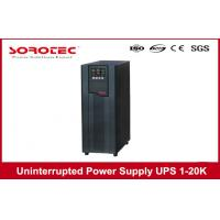 Buy cheap Power Factor 0.9 Data Center UPS Uninterrupted Power Supply Battery Backup 10kva 9kw product