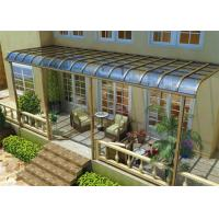Buy cheap Impact Resistance Aluminum Canopy Awnings Non - Yellowing For Balcony product