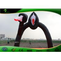 Quality Fashion Inflatable Arch / Black Halloween Arch 5m Width For Holiday Decorations for sale