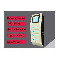 Buy cheap Cell Phone Wall Mounted Charging Station With Digital Lockers , Free Charge product
