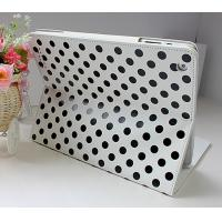 Buy cheap New Case Leather Material Soft and Anti-skid Surface iPad Protective Cases Polka DOT product