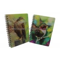 Buy cheap Custom A4/A5/A6 3D Lenticular Notebook For Children CMYK Offset Printing product