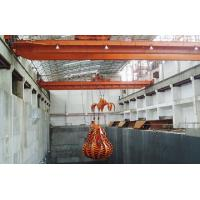 China QZ Travelling Overhead Crane With Clamshell Grab Bucket For Bulk Material Handling on sale