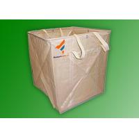 Buy cheap PP Woven Brown Color FIBC Bags for Chemical/ Gravel Mining/ Building Material and Garbage product
