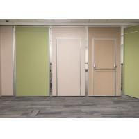 Insulation Acoustic Movable Divider Walls , Movable Office Walls Easy Installation