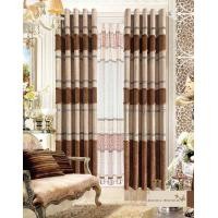 Buy cheap America Style Jacquard Luxury Ready Made Curtains , Polyester Modern Window Curtain product