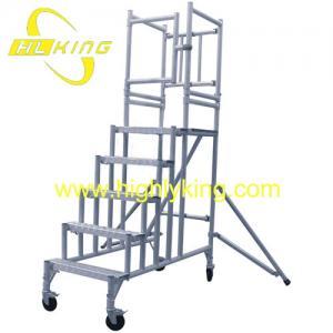 Buy cheap DIY Aluminium Working Platform /Aluminium Rolling Scaffold Tower(HJ-118) product