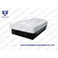 Buy cheap 14 Bands Wifi Signal Jammer Built In Aerial Adjustable AC110 - 250V Power Supply from wholesalers