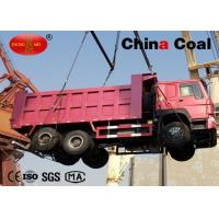 Buy cheap ZZ3257N3847A Stock Large Dump Truck Logistics Equipment For Right Hand Driving Type from wholesalers