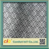 Buy cheap Knitted Chinese Printing Auto Upholstery Fabric Grey  For Seat Cover / Lining product