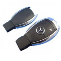 Buy cheap Benz smart key shell 3 button without the plastic board Transponder Keys product