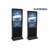 LCD Touch Screen Digital Signage Totem , 3G WIFI Touchscreen Display