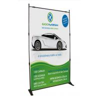 Buy cheap Advertising Outdoor Adjustable Banner Stands Digital Printing Heavy Duty product