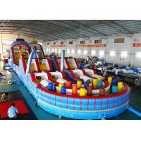 China Giant Inflatable 5k Game Adult Inflatable Obstacle Course For Sale on sale