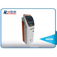 Buy cheap OEM 32 inch automatic self ordering kiosk with card reader cash payment product