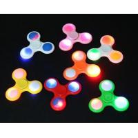 Buy cheap Promotion Gift Led Fidget Spinner Toy With Flash , Unique Switch Design from wholesalers