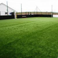 Buy cheap Outdoor Artificial Grass Soccer Field 35mm Non Filling Natural Looking product
