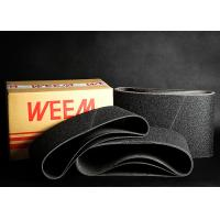 Buy cheap Anti Static Floor Abrasives Sanding Belts , Silicon Carbide Grain product