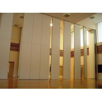 Buy cheap Function Hall Decorative Acoustic Room Dividers / Sliding Operable Wall Panel product