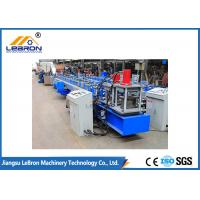 Buy cheap Easy Operation C Z Purlin Roll Forming Machine 147 Model With 23 Stations product
