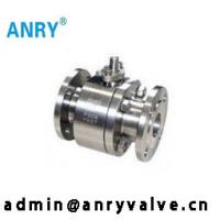 China Forged Steel 1 Inch 3 Way Ball Valve / Floating Ball Valve Class150 300 600 on sale