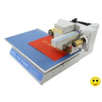 China 300Dpi Roll Sticker Hot Foil Press Machine , 8025 Gold Stamping Machine For Plastic on sale