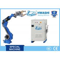 Buy cheap HWASHI 165KG Six Axis Spot Welding  Robot Arm for Automobile Parts product