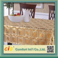 Buy cheap Custom Printed Popular Modern PVC Table Cloths with Non-woven Fabric Backing product