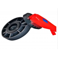 Buy cheap IECEE A182 F316 Irrigation PVC Flanged Butterfly Valve / Butterfly Flange Valve product