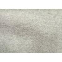 Cheap 400g/M Fashion Flannel Wool Fabric Light Grey For Grement DH-D-2 wholesale