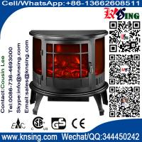 Buy cheap Electric Fireplace Heater 3 Sided Freestanding electric Stove SF-23 Log flame effect INDOOR HEATER room heater product