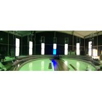 Buy cheap 42 Inch LED Broadcast Video Wall Studio Background System With RS-232 product