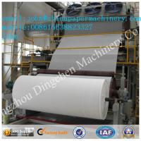 Quality 2100mm 6-7T/D toilet paper making machine with recycled paper as material for sale
