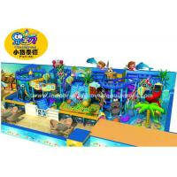 Buy cheap Customized Children Indoor Playground Equipment Soft Play In Ocean Style from wholesalers