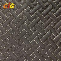 Buy cheap Top Quality Embroidery PU PVC Leather With High Density Foam For Car Floor Car from wholesalers