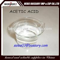Printing and dyeing chemical using acetic acid glacial