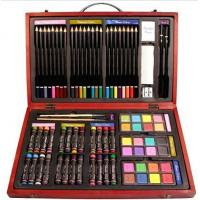 Buy cheap Beven 79 Piece Studio Art & Craft Supplies Drawing and Painting Set in Wood Box product