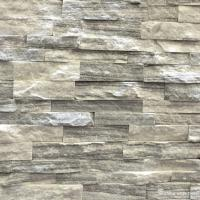 China Cloudy Grey Marble Stone Veneer Panels For Interior Walls Chip And Crack Resistant on sale