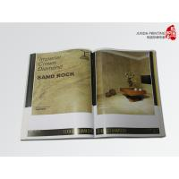Quality A4 Size Custom Printing Brochures , Catalogue Printing CMYK Colors OEM Design for sale