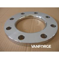 Buy cheap Industrial Austenitic / Duplex SS Forged Steel Flange Excellent Polishability product