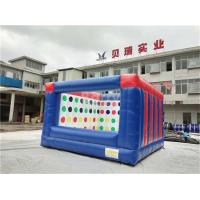 China Outdoor Electric Twister Inflatable Interactive Games With Logo Printing OEM on sale