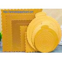 Buy cheap Food Grade Cake Board With Aluminium Foil For Food Packaging from wholesalers