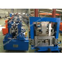Buy cheap Interchangeable C&Z Purlin Forming Machine , Purlin Roll Former High Capacity product