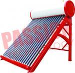 Buy cheap Portable Non Pressurized Solar Water Heater Non Pressurized Vacuum Tube 200L product